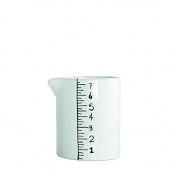 House Doctor Ceramic White Jug Measure Scandinavian / Nordic