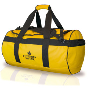 The Friendly Swede Water-Resistant Combined Duffle Bag and Backpack (Capacity