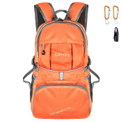 Gkeeny Lightweight Foldable Backpack 35L Ultralight Water Resistant Travel Hiking Camping Outdoor Rucksack Daypack