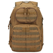 G4Free 40L Tactical Backpack Army Military Molle Rucksack for Outdoor Hiking Camping Travelling Trekking