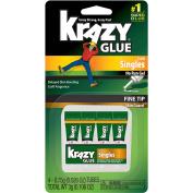 Krazy Glue® Craft Singles No Run Gel Glue 4-0.75g Tubes