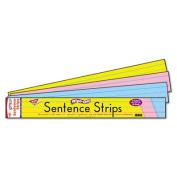 Trend 60cm Multicolor Wipe-Off Sentence Strips