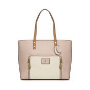 J By Jasper Conran Light Pink Contrast Handle Large Shoulder Bag