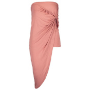 Garage Knotted Wrap Skirt