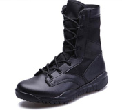 W & XYMen's Fashion Outdoor Trekking Shoes Desert Lace Up Boots