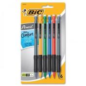 Bic Matic Grip Mechanical Pencils, 6 ct