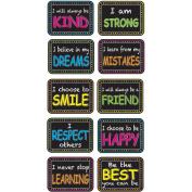 Ashley Motivation Phrase Mini Whitebrd Erasers - Lightweight, Comfortable Grip - Multicolor - 10 / Pack ASH78004