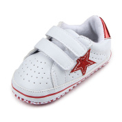 Rapidly Baby Shoes, Soft Bottom Five-Pointed Star Baby Toddler Shoes/First Walking Shoes