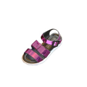sunnymi For 7-11 Years Old Kids, Fashion Toddler Children Kids Princess Sequins Single Shoes Summer Girls Sandals