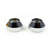 MCS Fork Boot Covers, Chrome - 80-86 FXWG; 84-07 FXST Models (Excl. FXSTD/C); 93-05 FXDWG.