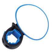 Elistelle Mini bike moirror, Bicycle Cycling Handlebar Rubber Rearview Mirror 360 degree Rotate Accessories,Blue