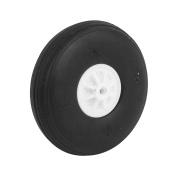 2mm Shaft Hole RC Plane EVA Tail Tyre Rubber Wheel Metric Size D45 H14