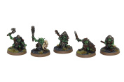 3 x Assorted melee goblin wargaming miniatures