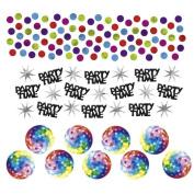 34 g decorative confetti 70s Hippie party table confetti coloured decoration confetti disco party confetti Birthday confetti Table decoration
