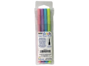 Uchida ColorIn Markers Brush 4pc Pastel