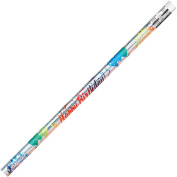 Moon Products Happy Birthday Themed Pencils