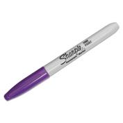 Fine Point Permanent Marker, Purple, Dozen, Sold as 1 Dozen