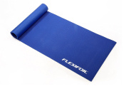 FLEXIFOIL Durable Long Thick Foam Black, Pink or Blue Workout Mat. Home or Gym Equipment for Sports, Yoga, Meditation, Fitness, Pilates, Exercise, Aerobics and Sit Ups. Ideal for use on Carpet or Wood