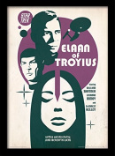 "Star Trek ""Elaan Of Troyius"" Framed Print, Multi-Colour, 30 x 40 cm"