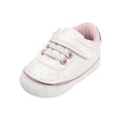 Sharplace Toddler Newborn Cute Sports Shoes Kids Soft Sole Canvas Sneaker 0-18 Months - Pink, M