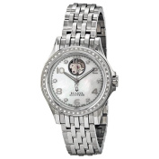 Bulova Accutron Swiss Made Ladies Stainless Steel and Diamond Automatic Watch