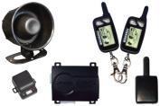 CAR ALARM K9 WITH (2)2-WAY LCD REMOTES