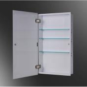 Ketcham Medicine Cabinets Euroline 34cm x 90cm Recessed Medicine Cabinet