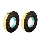 2 Pcs 25mmx4mm Single Sided Sponge Tape Adhesive Sticker Foam Glue Strip 3m