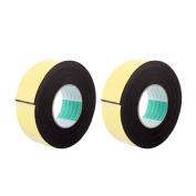 Unique Bargains 2 Pcs 50mmx4mm Single Sided Sponge Tape Adhesive Sticker Foam Glue Strip 3m