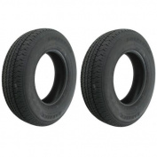 2-Pack Radial Trailer Tyres #391 ST205/75R14 ST 205/75 R 36cm Load Range C Tyre