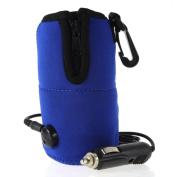 KOBWA Universal Car 12V Portable USB Milk Bottles Warmer Heater Travelling Bottle Milk Quick Heater for Little Baby Kids-