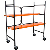 WEN 230kg Capacity Collapsible Rolling Scaffolding