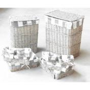 Basket Ref 8408180 Rect Basket x10 Grey Code 4651
