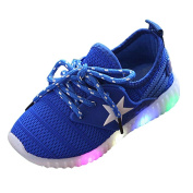 Muium Children colourful Light Shoes Toddler Infant Baby Boys Girls Star Luminous Sneakers Boots For 1-8 Years Old
