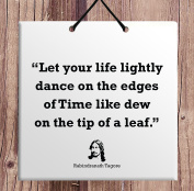 Rabindranath Tagore Best Home Decoration Special Birthday Gift Idea Famous Quote