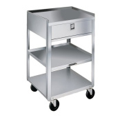 Lakeside Manufacturing Mobile Equipment Stand Utility Cart