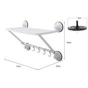 ZLR Strong Power Vacuum single-store rack, bathroom towel rail hooks
