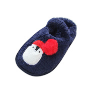 Dinglong Toddler Kid Pram Shoes High Quality Cartoon Design Soft Household Slipper Shoes Baby Warming Crib Shoes - Child Size 4-8 Loafer Shoes Age Over 9 Months