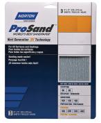 Norton 3X A259 High Performance Sanding Sheet, 23cm x 28cm , 150 Grit