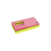 Post-it Notes 630-6AN Neon Color Notes- 3 x 3- Neon Colors- 6 100-Sheet Pads/Pack