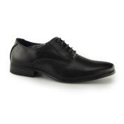Route 21 Oswald Boys Smart Oxford Shoes Black UK 12