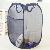 Daeou Collapsible high quality coarse wire laundry basket High quality bathroom hamper basket