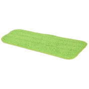 CALISTOUK Practical Household Dust Cleaning Reusable Microfiber Pad For Spray Mop Green