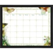 Butterfly Calendar Black Memoboard