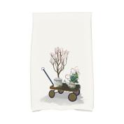 August Grove Amanda Farmhouse Holiday Hand Towel