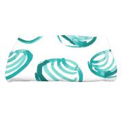 Highland Dunes Cedarville Clams Nautical Print Bath Towel