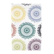 Bungalow Rose Willa Groovy Geometric Print Beach Towel