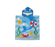 Bath Towels Kids Dolphin Hooded Bath Towel