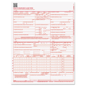 Paris Corporation CMS 02/12 Insurance Claim Form, 8 1/2 x 11, 500 Forms