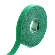 Outdoor Office Sticky Tape Fabric Self Adhesive Hook and Loop Fastener Green